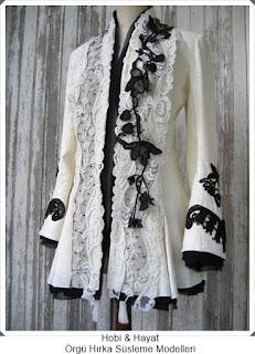 Giysi Süsleme - Hırka Süsleme - Hobi Moda - Kendin Yap 1