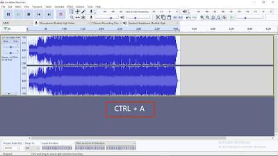 Cara Membuat Efek Suara Chipmunks Menggunakan Audacity