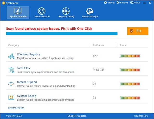 تحميل برنامج Systimizer لحل مشكلات الكمبيوتر وعمل صيانة للويندوز مع التفعيل