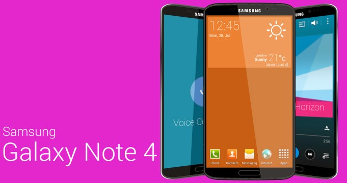 2014 Samsung Galaxy Note 4, Samsung Galaxy Note 4