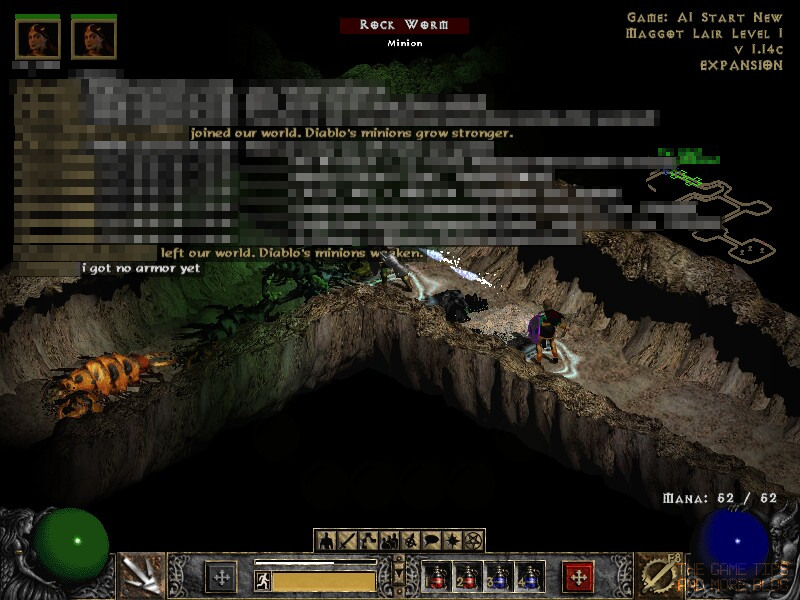 The Game Tips And More Blog: Diablo 2 - Playing in Windows