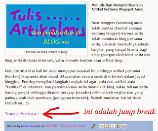 jump break artikel blog