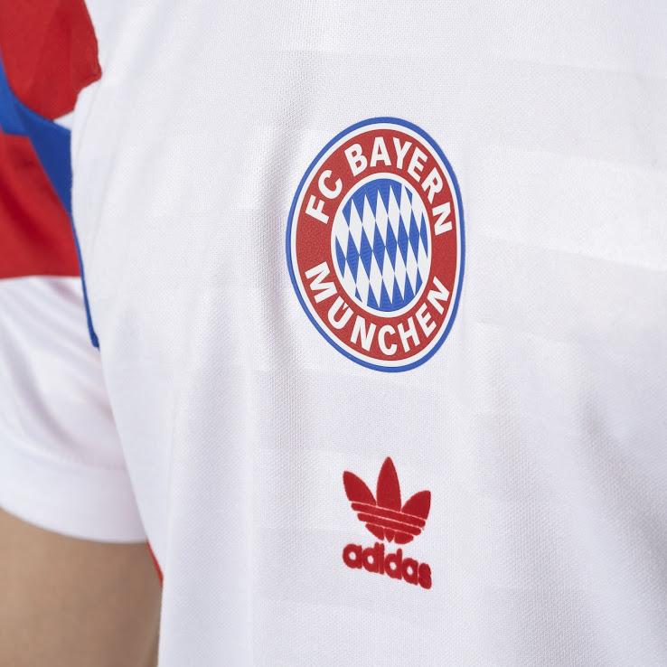 release date: 4cbf6 a8414 Two Adidas Originals Bayern München 2017-18 Jerseys Released ...