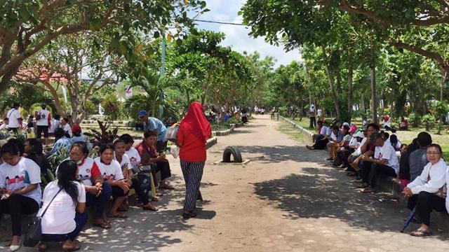 Viral di Medsos, Kampanye Jokowi di Dumai Angkut Massa dari Luar Daerah
