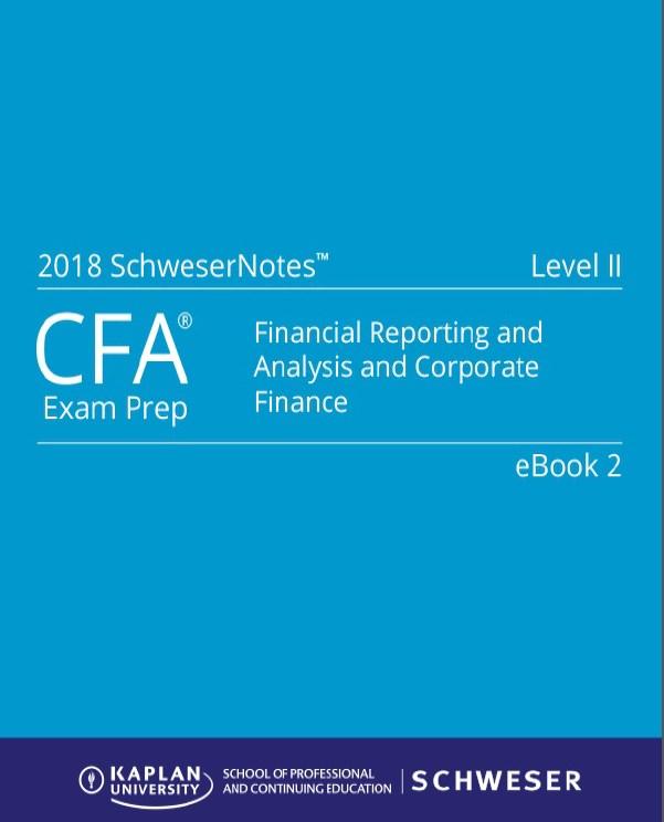 Cfa Study Material Pdf