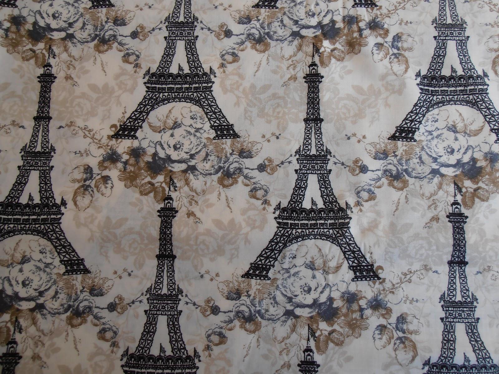 Crafty Friends Paris France Quilt Fabrics