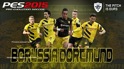 PES 2015 Start Screen Borussia Dortmund Pack by Dan Félix
