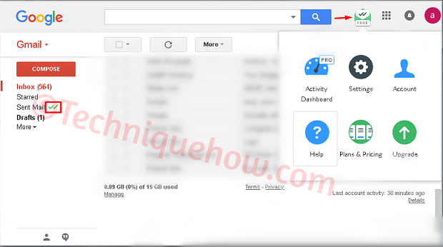 Confirm if Someone Blocked on Gmail list