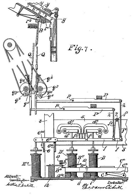 Abaculi: Type Writing Machine (1898)