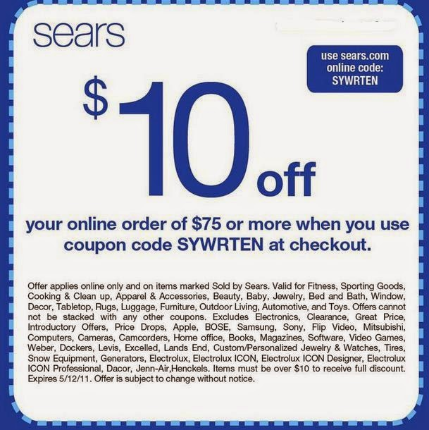 graphic regarding Sears Coupons Printable referred to as Sears Printable Coupon codes May perhaps 2018