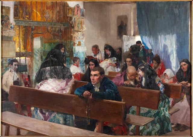 Joaquín Sorolla - El bautizo - 1900