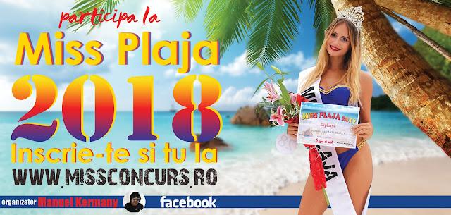 Inscrie-te si tu la Miss Plaja 2018