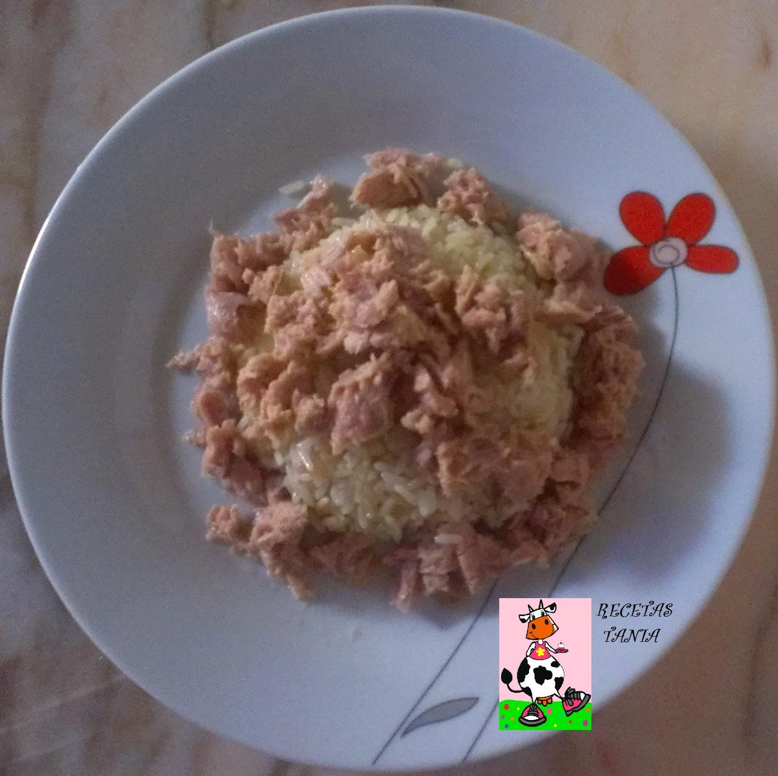 Recetas tania arroz blanco con at n - Comidas con arroz blanco ...