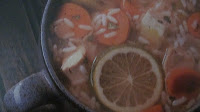 HEARTY CHICKEN RICE SOUP WITH LIME