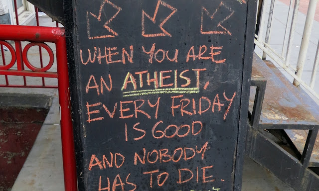 Atheist Good Friday Sign