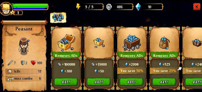 League of heroes unlimited coins gems shopping