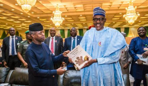 You Are The Most Loyal, Dependable, Strong And Obedient Partner, Buhari Salutes Osinbajo At 61