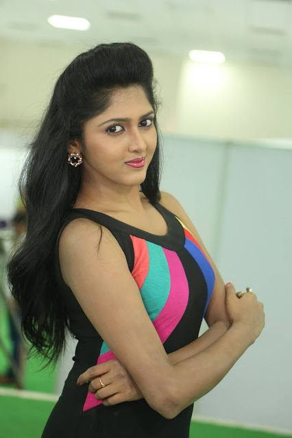 Charishma Stills At Hastakala Silk and Cotton Expo Launch