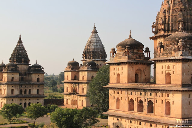 Cenotaphs Chhatri Orchha