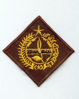 bordir logo sd, logo smp, logo sma, logo osis, logo sekolah, logo perusahaan, logo pramuka