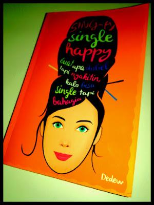 resensi novel single happy