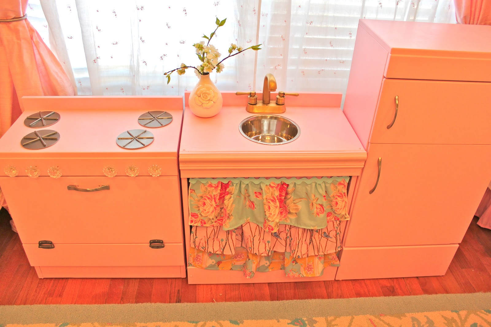 B Inspired Diy Pink Play Kitchen Perfect For Girls
