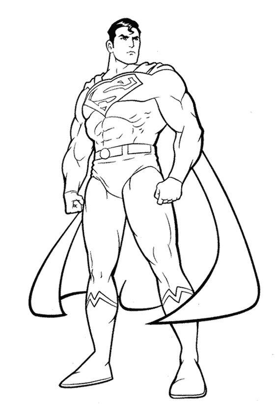 Tranh tô màu siêu nhân 6