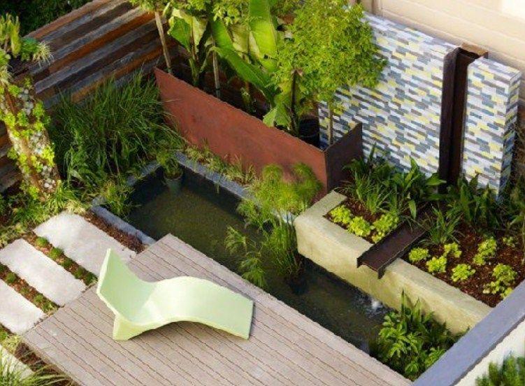 Desain Kolam Ikan Minimalis Diluar Rumah