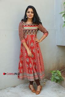 Telugu Actress Nikhila Vimal Latest Stills in Anarkali Dress  0195.JPG