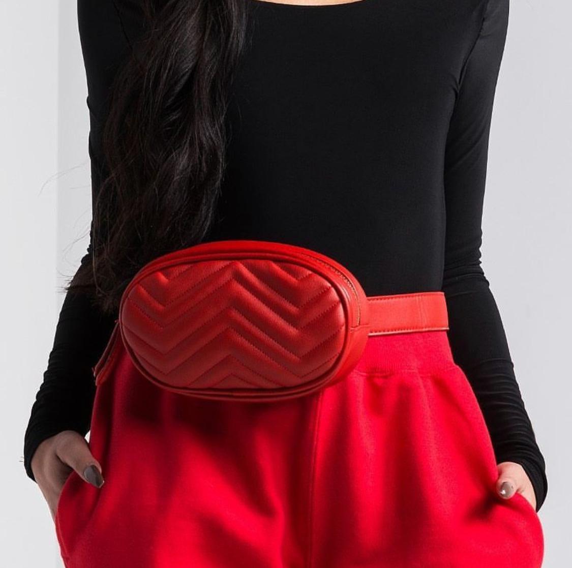 1c68b6c16f1cda Gucci GG Marmont Small Belt Bag $1100 · Faux Leather Fanny Pack $15.90  (Similiar)