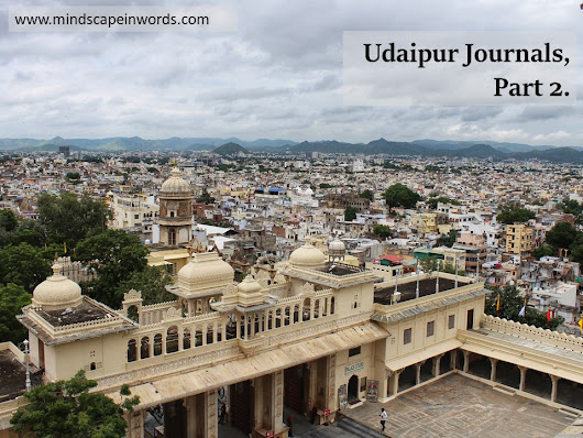 Udaipur Journals, Part 2!