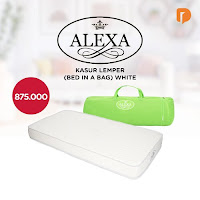 Dusdusan Alexa Kasur Lemper (Bed In A Bag) White ANDHIMIND