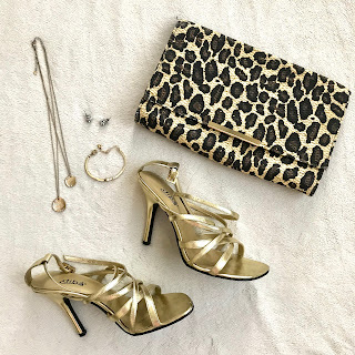 Thrifty Wife, Happy Life | Gold and Leopard accessories