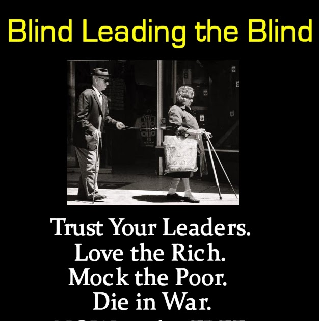 Christian Metaphysical Society Blind Leading The Blind