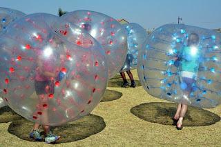 透明膠布, Clear PVC Sheeting, 高雄, 泡泡足球, bubble football