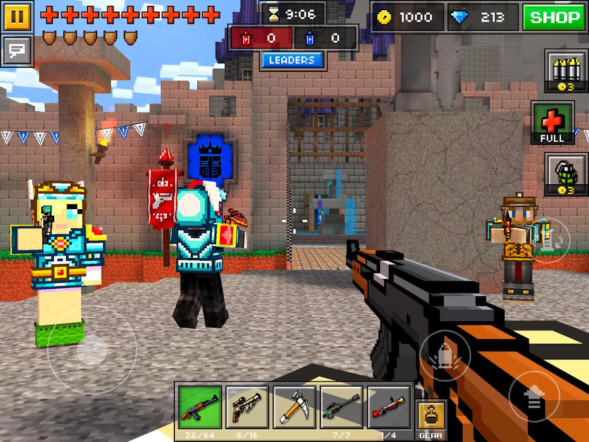 pixel gun 3d unlimited coins and gems apk