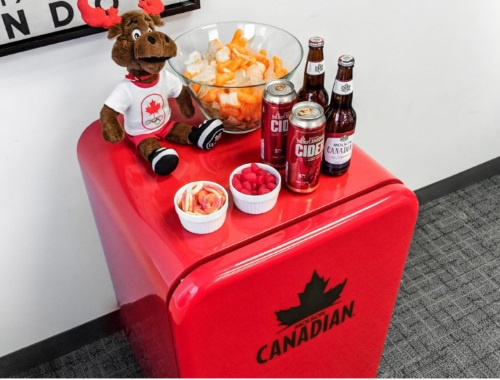 Olympics Molson Canadian Mini Fridge Contest