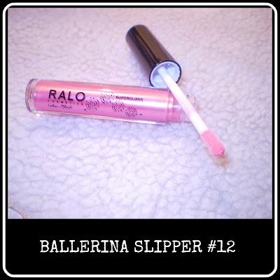 Ballerina Slipper lipgloss