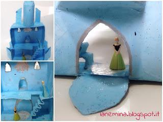 castello di ghiaccio di elsa