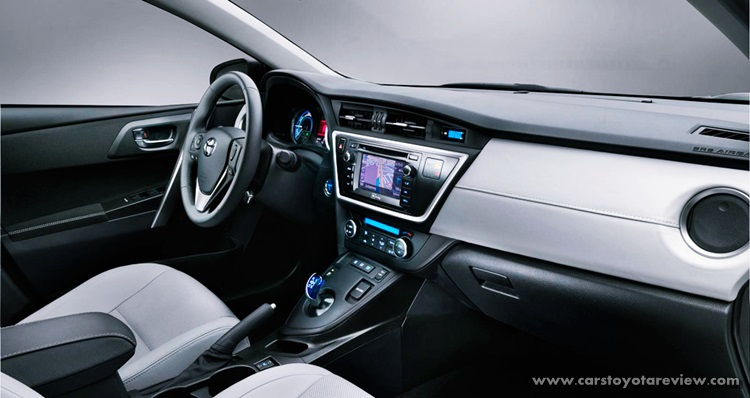 2018 Toyota Auris Hybrid Exterior