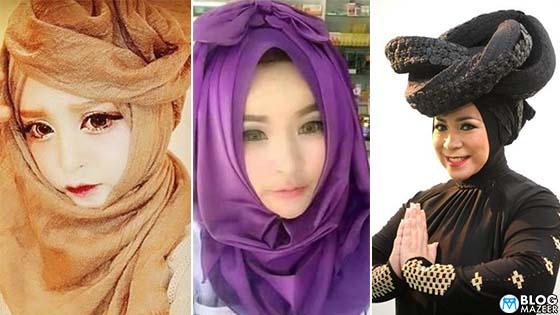 10 Trend Tudung Yang Wanita di Malaysia Patut STOP Pakai Pada Tahun 2018
