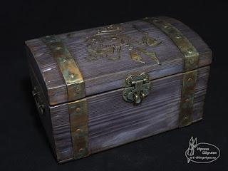шкатулка Пиратский Сундук