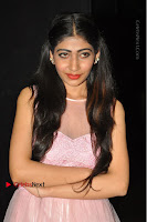 Actress Nidhisha Reddy Pos in Beautiful Pink Dress at Virus Telugu Movie Audio Launch .COM 0017.JPG