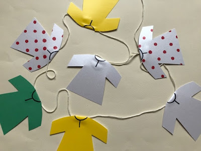 Tour de France jersey bunting craft