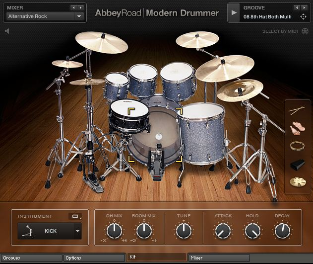 Native Instruments - Abbey Road Modern Drummer KONTAKT Library