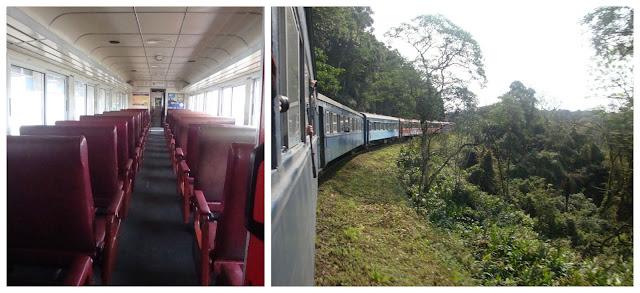 trem de Curitiba para Morretes