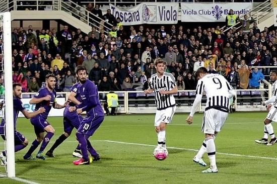 cầu thủ Fiorentina đã đá hỏng 2/4 quả penalty chỉ trong 3 lần gần nhất chạm trán Juventus.