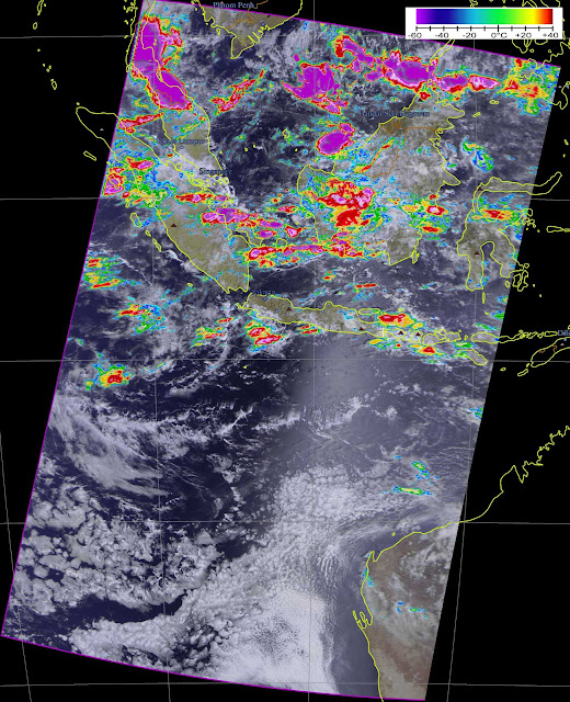 METEOR M2 over Indonesia