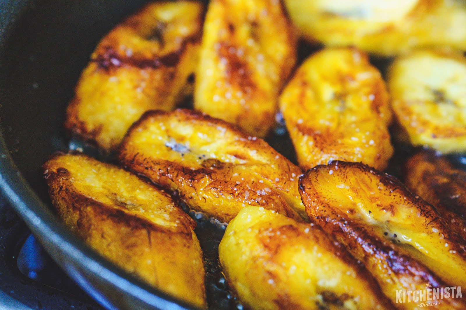 Pan Fried Plantains With Sea Salt The Kitchenista Diaries