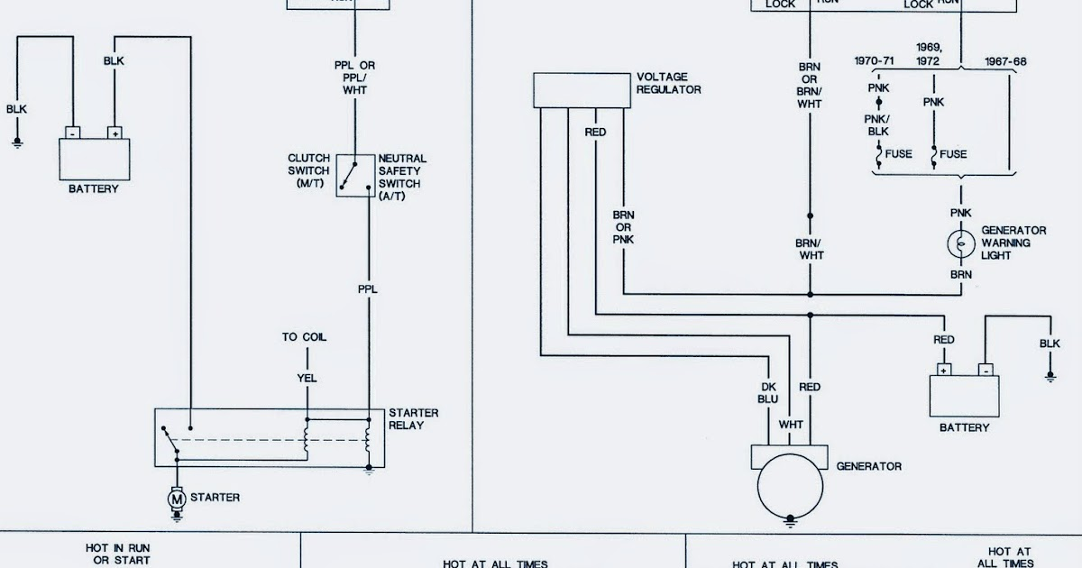 1968 Chevrolet camaro Wiring Diagram | Electrical Winding